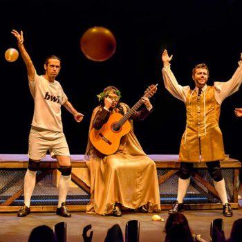 Siglo de Oro, siglo de ahora (folía). Foto David Ruiz. Ron Lalá.